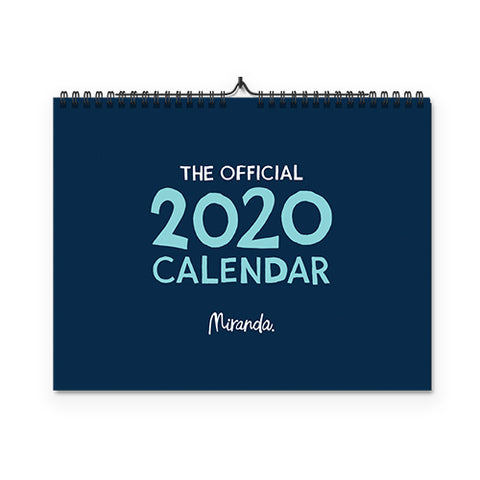 The Official Miranda Calendar - 2020