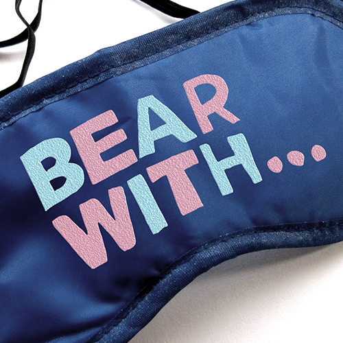 Bear With... Eye mask