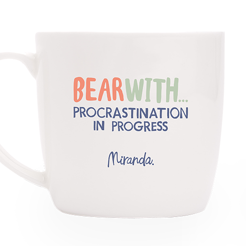 Procrastination in Progress Mug