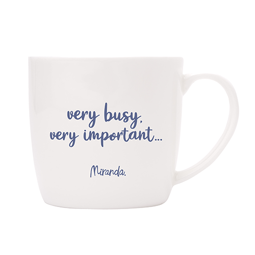 Bear with, very busy, very important - Mug