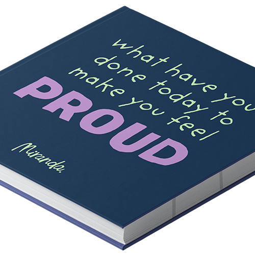 PROUD - Sticky Notelet Set