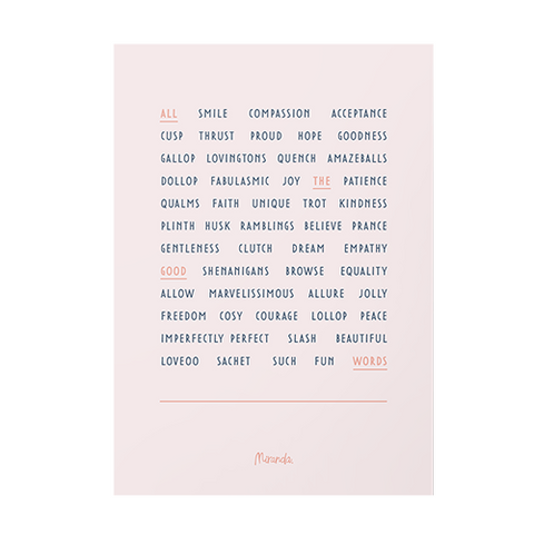 Good Words Print