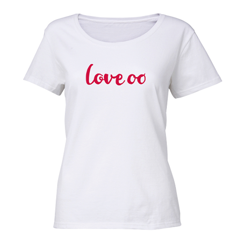 Love oo - Ladies T-Shirt