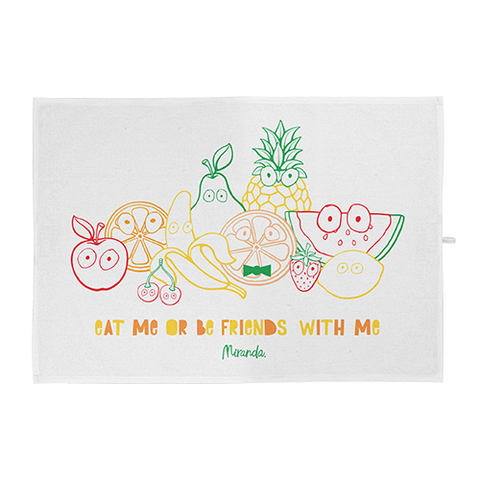 Fruit Friends Tea Towel