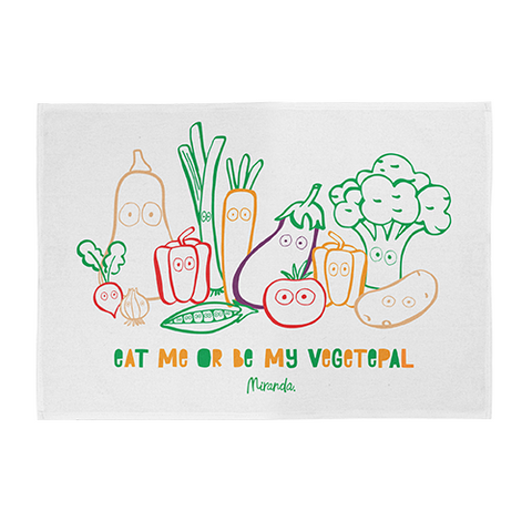 Vegetepals Tea Towel