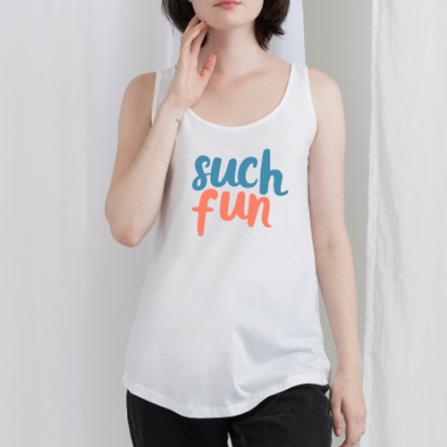 Such Fun Vest Top