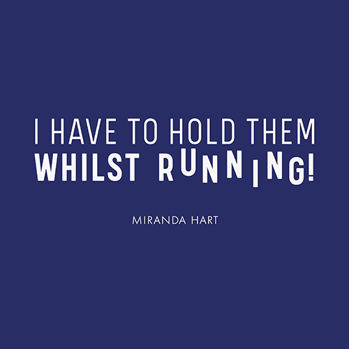 Hold Them Whilst Running! T-Shirt