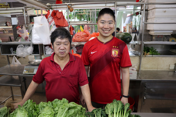Vegetable seller's 50 years in Tiong Bahru Market