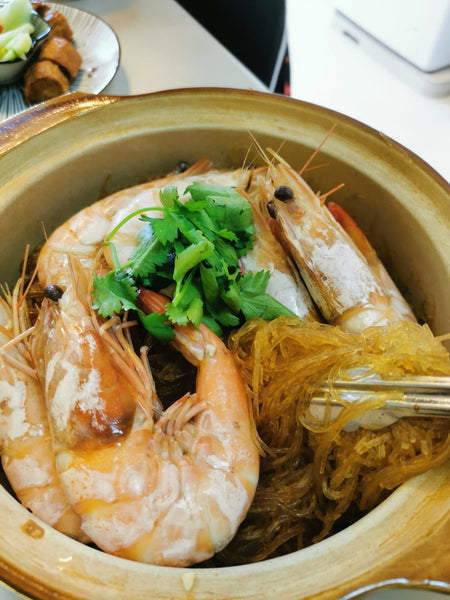 MarketFresh Recipe: Claypot Vermicelli with Prawns