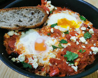 Shakshuka With Feta (One Pot Meal)