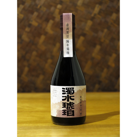 365 days Aged Wood Roasted Soy Sauce 濁水琥珀 柴燒陳年醬油 (300g)