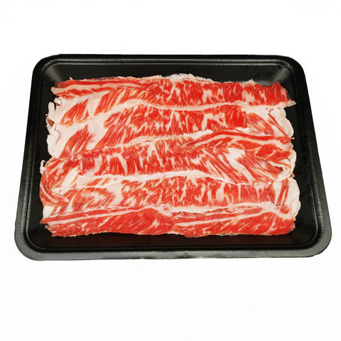 USDA Choice Boneless Short Rib Shabu Shabu (200g)