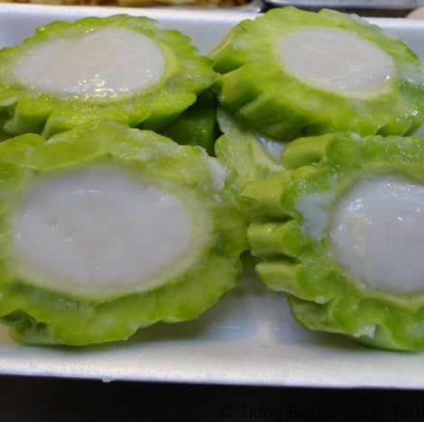 Bittergourd with Fish Paste (2pcs) 苦瓜