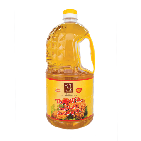 Tsuru Tempura Vegetable Cooking Oil (2L)