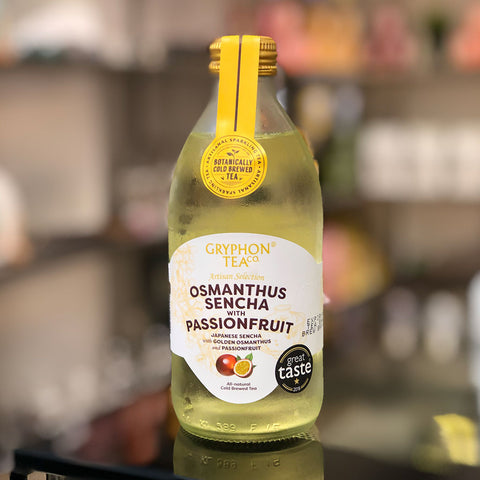 Osmanthus Sencha with Passionfruit by Gryphon Tea