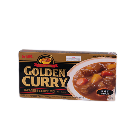 Golden Curry Japanese Curry Mix (HOT)