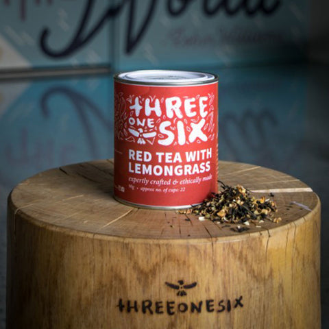 Red Tea with Lemongrass by three one six (50g)