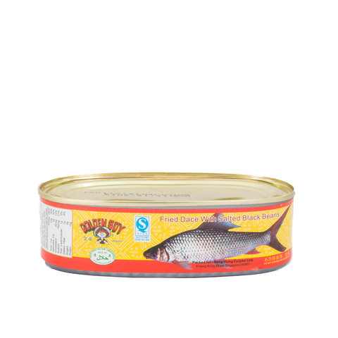 Golden Boy Brand Fried Dace With Salted Black Beans (184g)