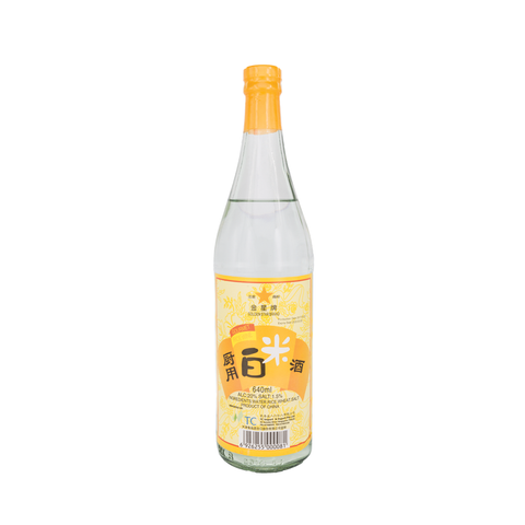 Golden Star Brand Gourmet Rice Wine (640ml)