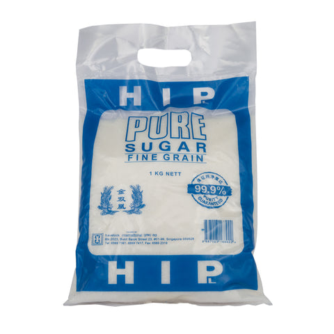 HIP Brand Pure Sugar Fine Grain (1kg)