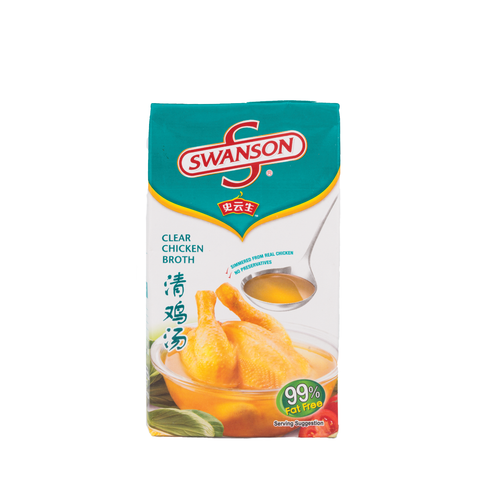 Swanson Brand Chicken Broth (1L)