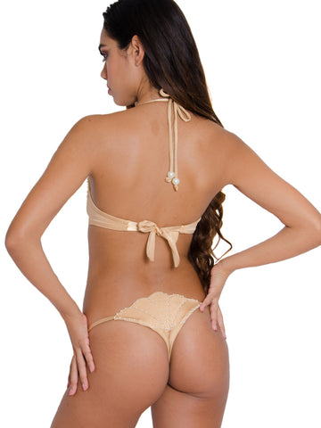 Pearl Minx Seashell Thong Bottoms (M)