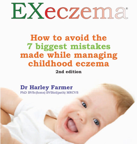 EXeczema - How to avoid the 7 biggest mistakes made while managing childhood eczema - Digital Download