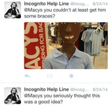 Anonymous Tweet or Facebook Message - The Incognito Help Line - 3