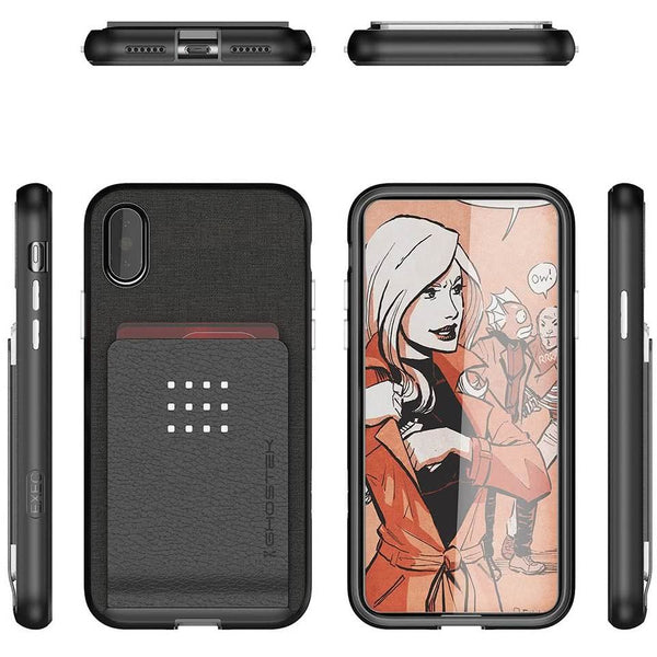 Ghostek Exec 2 iPhone XS Card Wallet Case