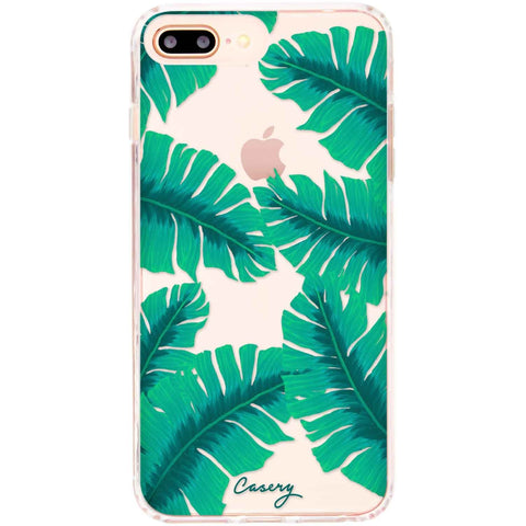 Casery Banana Leaves iPhone 8 Plus Case
