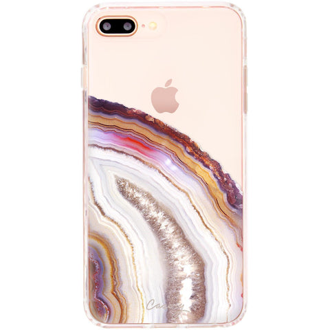 Casery Dusty Agate iPhone 8 Plus Case