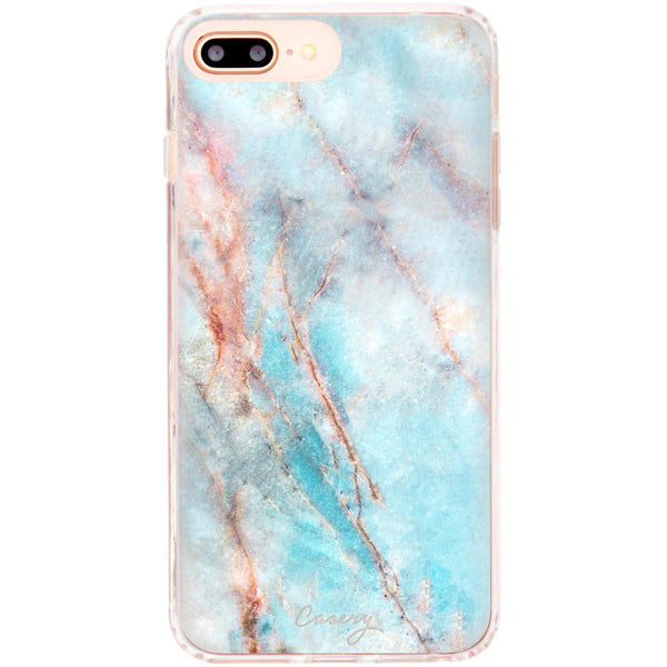 Casery Frosty Marble iPhone 8 Plus Case
