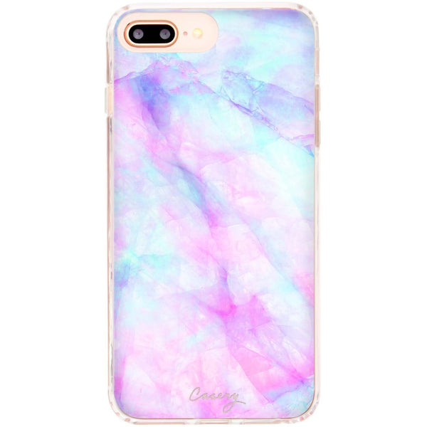 Casery Iridescent Crystal iPhone 8 Plus Case