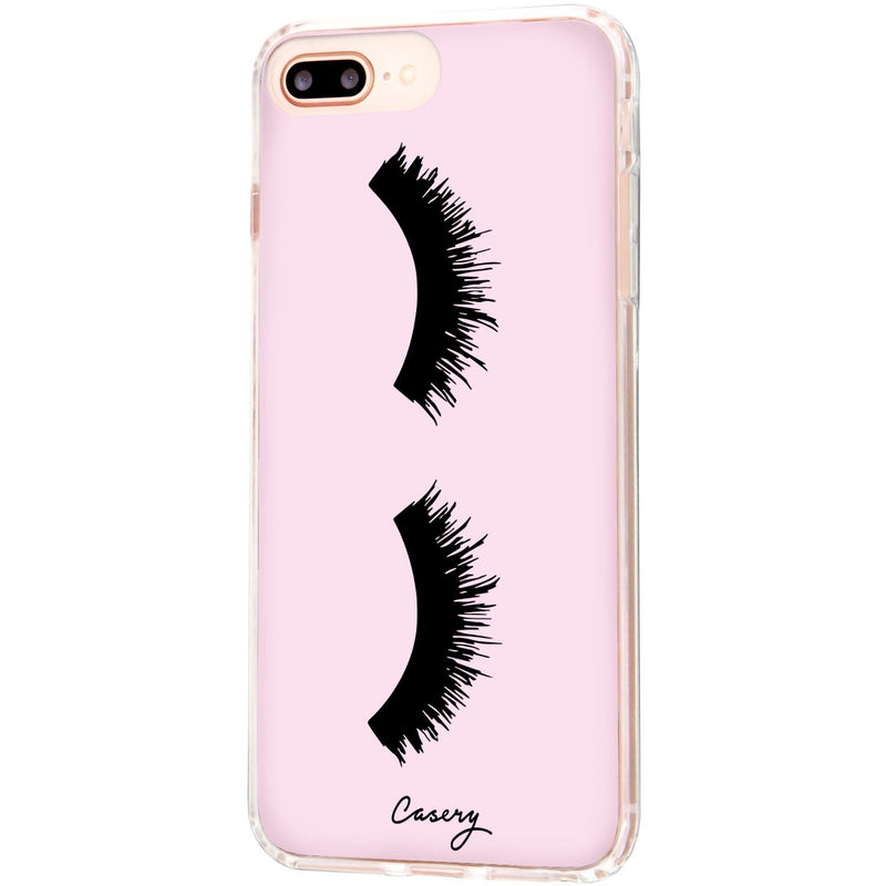 Casery Lashes iPhone 8 Plus Case