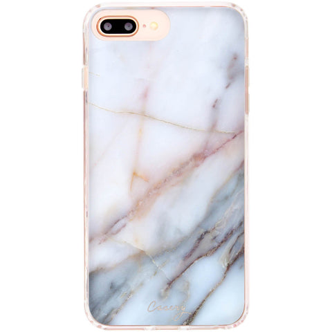 Casery Neutral Marble iPhone 8 Plus Case