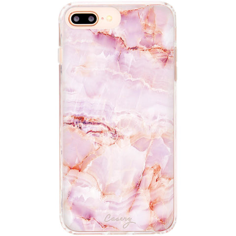 Casery Rose Marble iPhone 8 Plus Case
