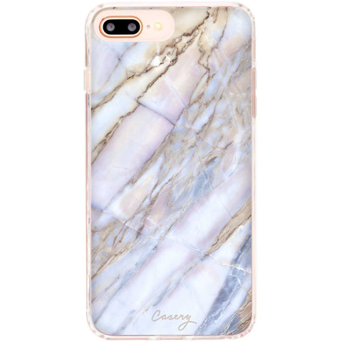 Casery Shatter Marble iPhone 8 Plus Case