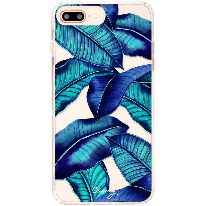 Casery Tropical Leaves iPhone 8 Plus Case