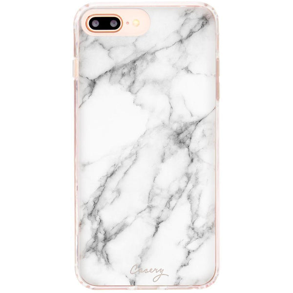 Casery White Marble iPhone 8 Plus Case