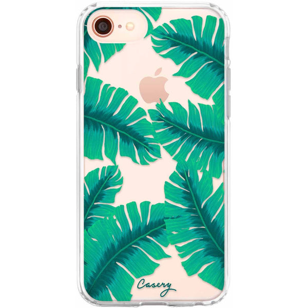 Casery Banana Leaves iPhone 8 Case