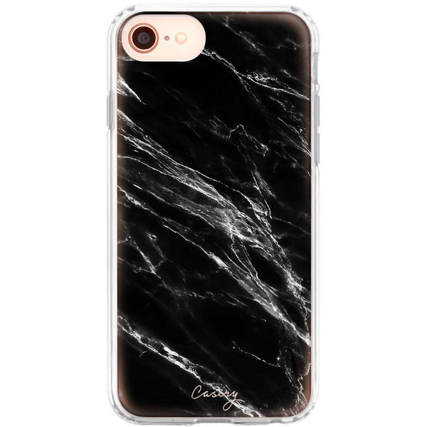 Casery Black Marble iPhone 8 Case