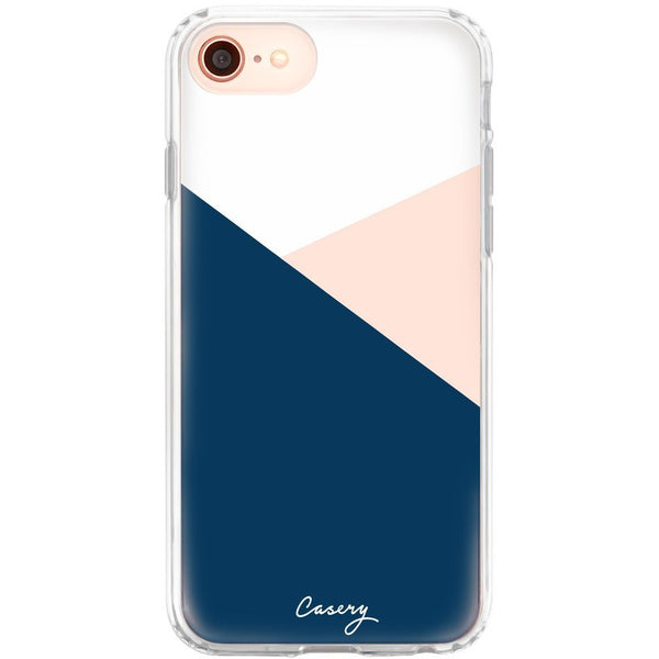 Casery Colour Block iPhone 8 Case