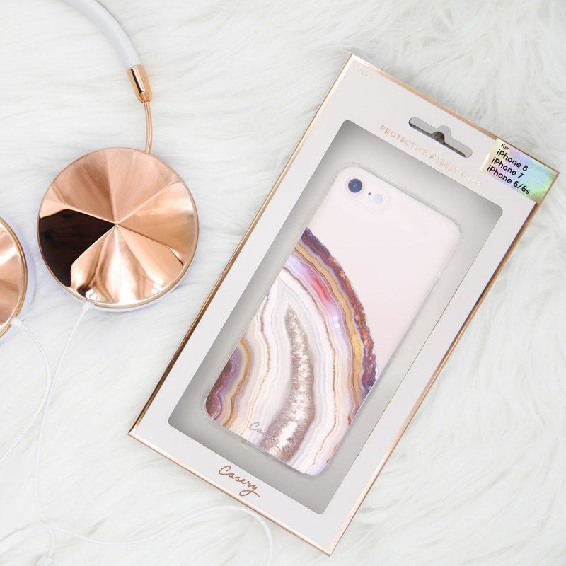 Casery Dusty Agate iPhone XS Case