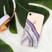 Casery Light Purple Agate iPhone 8 Case
