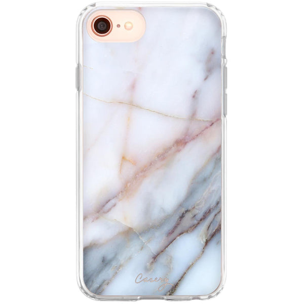 Casery Neutral Marble iPhone 8 Case