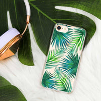 Casery Palm Leaves iPhone 8 Plus Case