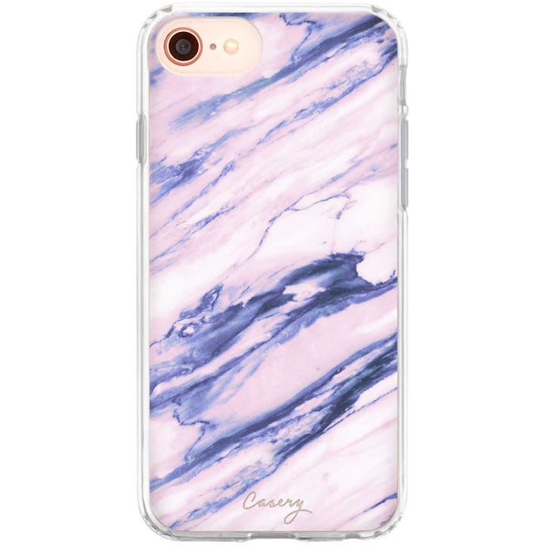 Casery Purple Marble iPhone 8 Case