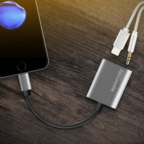 Promate 3.5mm Audio Lightning Adaptor