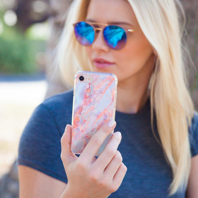 Casery Candy Marble iPhone XS Case