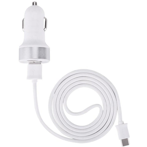 Devia Car Charger with USB Type C Cable